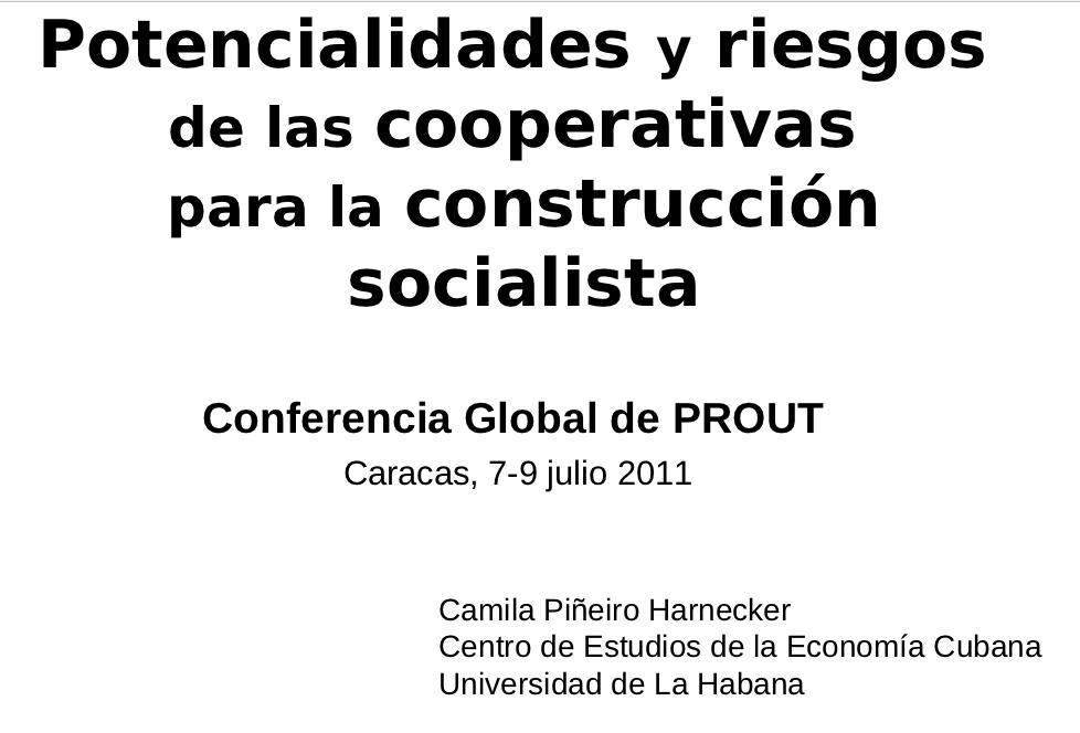 Cooperativas por Camila Piñeiro