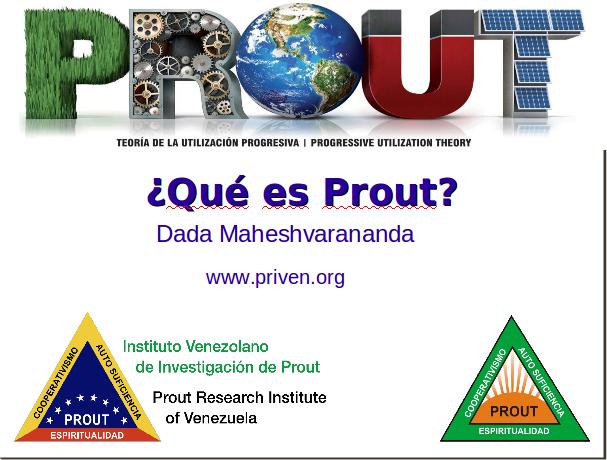 ¿Qué es Prout?