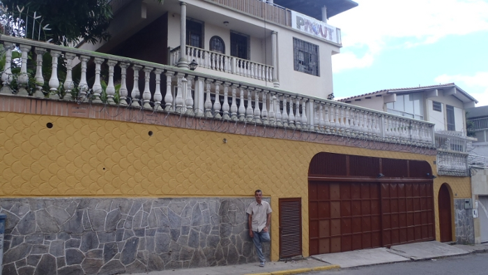 """""""El Pez Prout"""", la fachada de la Quinta Prout"""