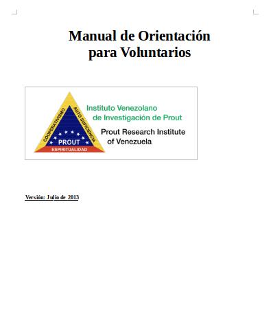 Manual de Orientación del IVIP