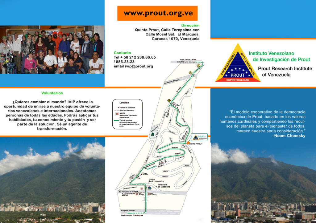 Instituto Venezolano de Investigación de Prout - volante